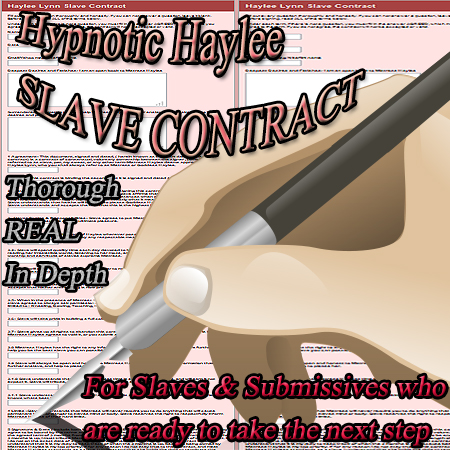 Slave stories Femdom contract